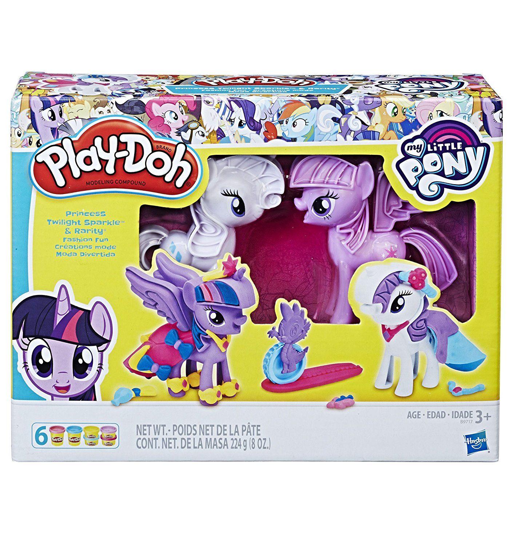 Игровой набор Play-Doh - Твайлайт и РаритиМоя маленькая пони (My Little Pony)<br>Игровой набор Play-Doh - Твайлайт и Рарити<br>