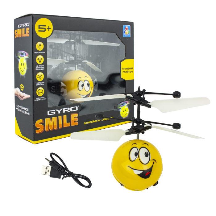 картинка Игрушка Gyro-Smile на сенсорном управлении, со светом от магазина Bebikam.ru