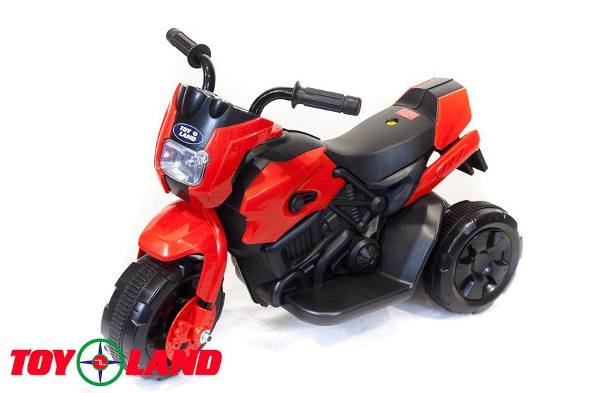 Электромотоцикл Toyland красного цветаМотоциклы детские на аккумуляторе<br>Электромотоцикл Toyland красного цвета<br>