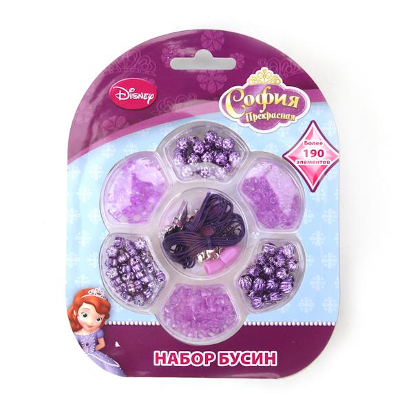 Набор бусин Disney София, более 190 деталей, подвески от Toyway