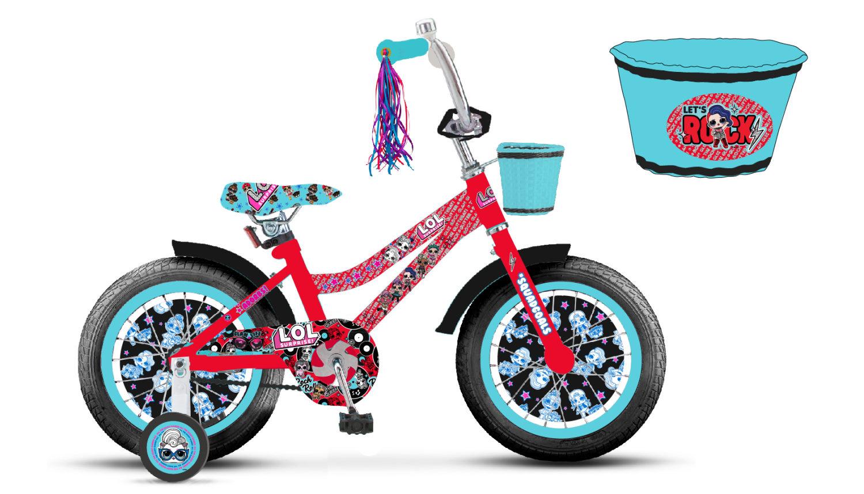 Детский велосипед – LOL, колеса 18