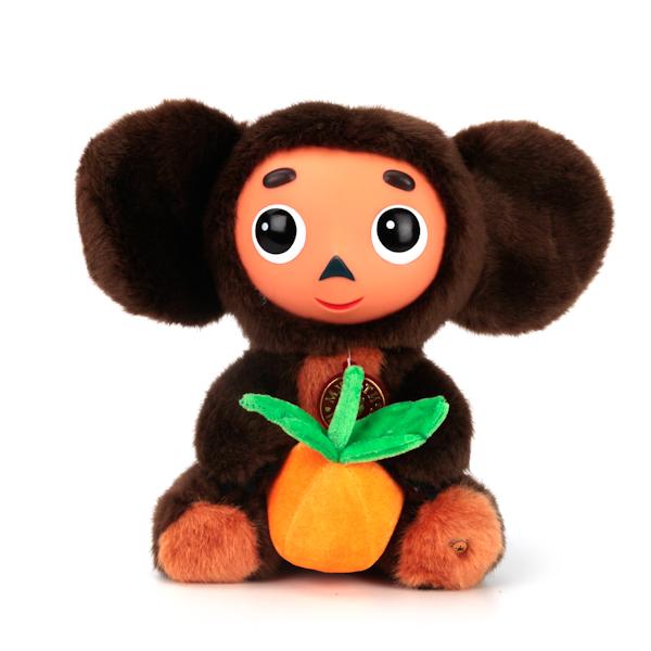 Купить Озвученная мягкая игрушка - Чебурашка с апельсином, 25 см, Мульти-Пульти