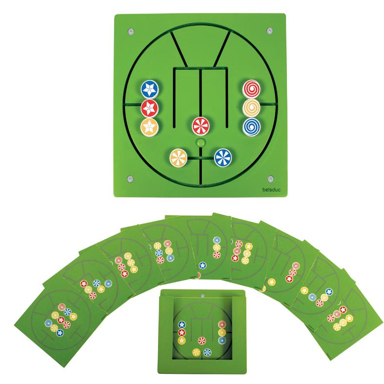 Настенный игровой элемент – Три в рядРазвивающие центры<br>Настенный игровой элемент – Три в ряд<br>