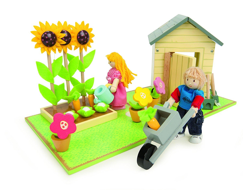 Игровой набор с куколками и аксессуарами Цветущий сад - Игровые наборы Зоопарк, Ферма, артикул: 161058