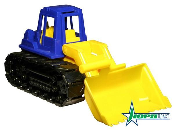 Трактор Байкал с грейдеромИгрушечные тракторы<br>Трактор Байкал с грейдером<br>