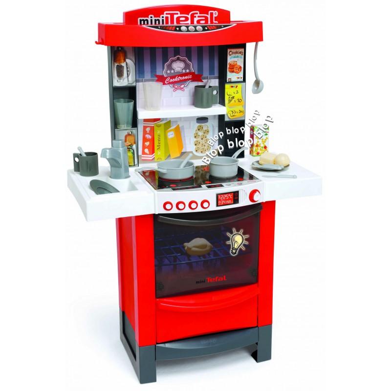 Купить Детская электронная кухня Tefal Cooktronic, свет, звук, Smoby