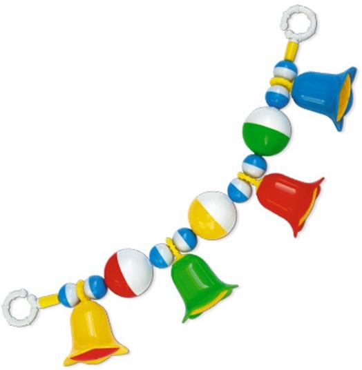 Погремушка подвеска «Колокольчики» на кроваткуДетские погремушки и подвесные игрушки на кроватку<br>Погремушка подвеска «Колокольчики» на кроватку<br>