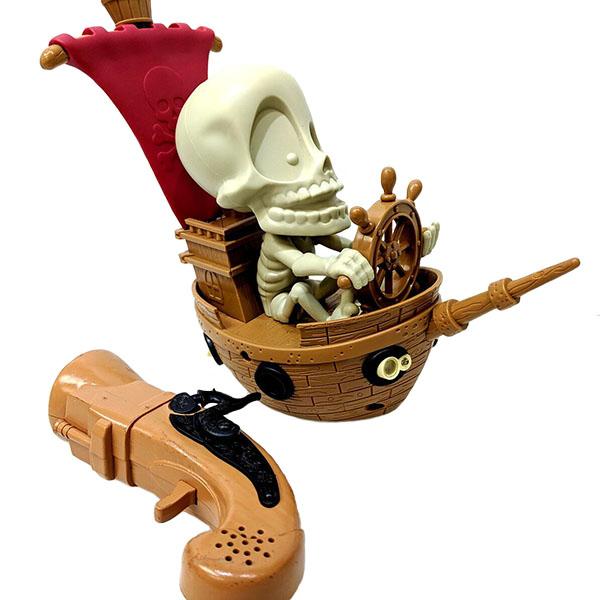 Купить Johnny the Skull Тир проекционный Джонни-Пират с 1 бластером, Fotorama