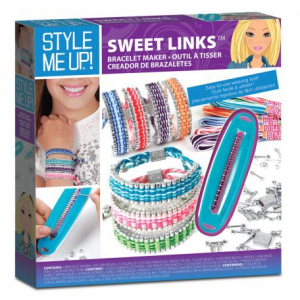 Набор для создания браслетов Style Me Up - Красивые звеньяЮная модница, салон красоты<br>Набор для создания браслетов Style Me Up - Красивые звенья<br>