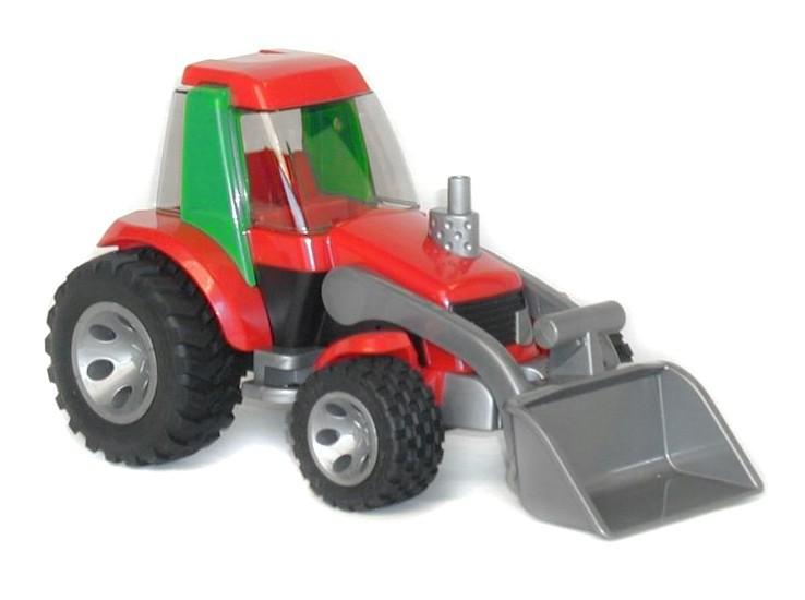 Трактор погрузчик Bruder RoadmaxИгрушечные тракторы<br>Трактор погрузчик Bruder Roadmax<br>