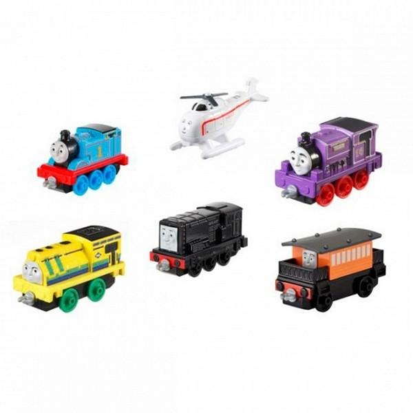 Купить Маленькие паровозики из серии Томас и его друзья, несколько видов, Mattel
