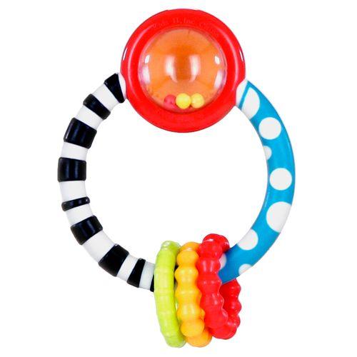 Развивающая игрушка-прорезыватель «Колечко»Детские погремушки и подвесные игрушки на кроватку<br>Развивающая игрушка-прорезыватель «Колечко»<br>