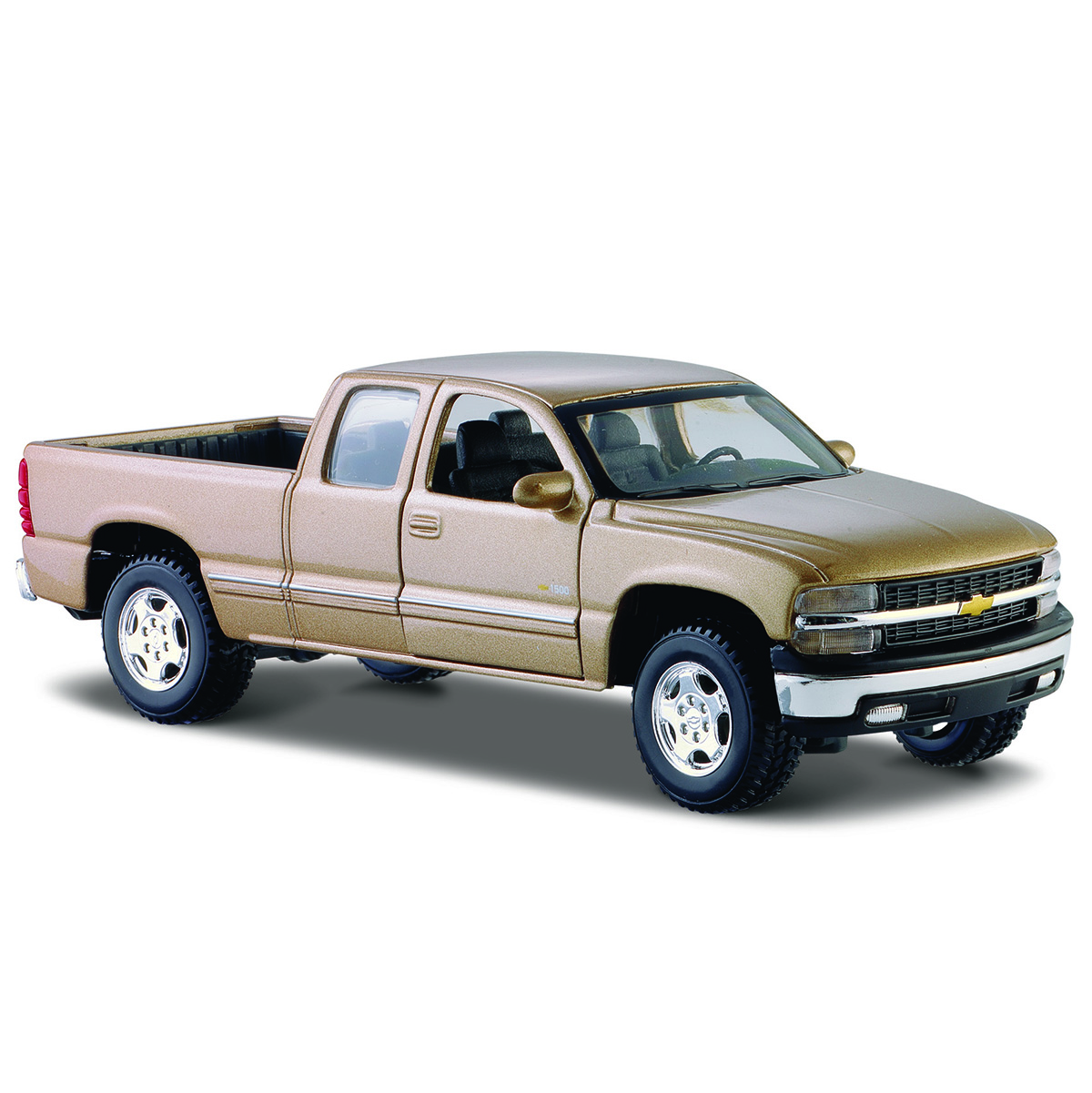 Модель машины - Chevrolet Silverado 1998, 1:24 фото