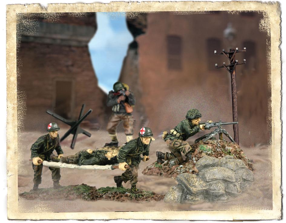 Набор фигурок «Американская 29-ая пехотная дивизия», Normandia 1944 год, 1:72Замки, рыцари, крепости, пираты<br>Набор фигурок «Американская 29-ая пехотная дивизия», Normandia 1944 год, 1:72<br>