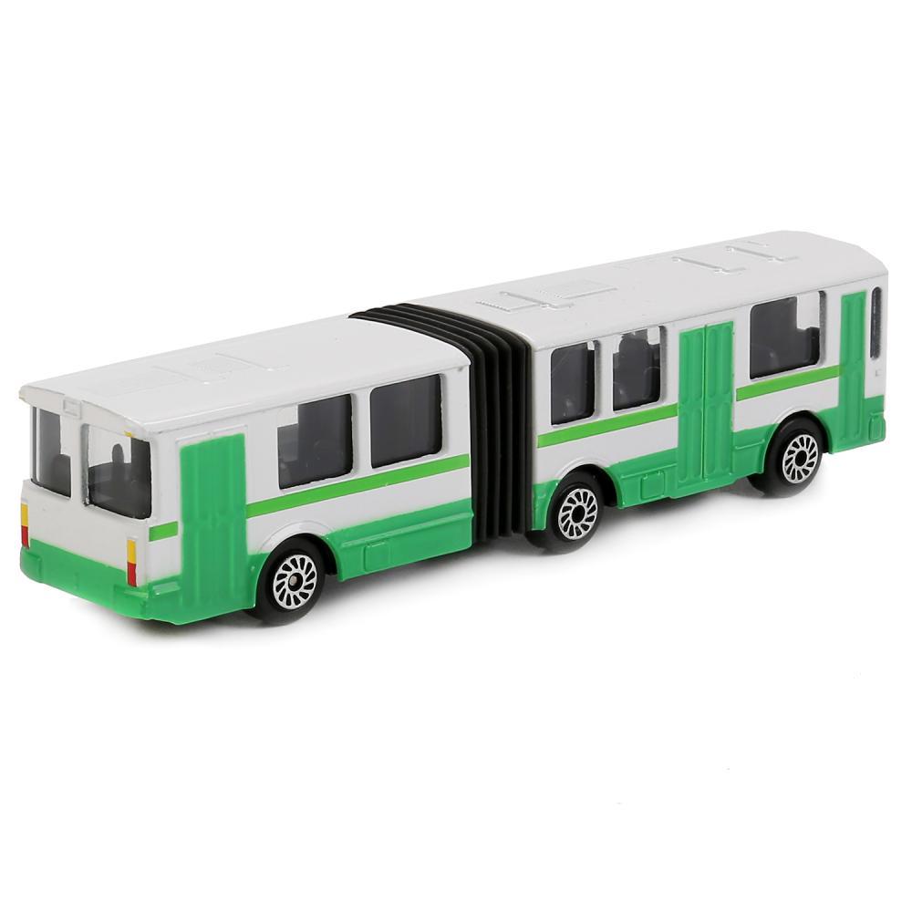 Купить со скидкой Металлическая модель – Автобус с гармошкой, 12 см