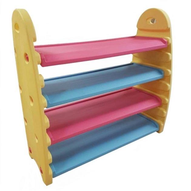 Многофункциональная полка для игрушек и книгКорзины для игрушек<br>Многофункциональная полка для игрушек и книг<br>