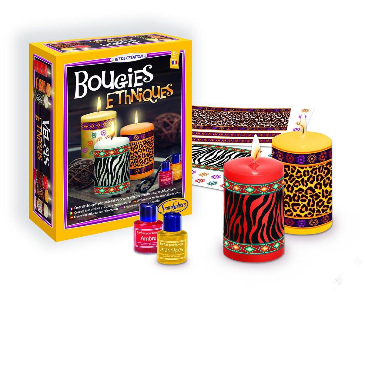 Купить Набор для творчества - Этнические свечи, с наклейками, SentoSpherE