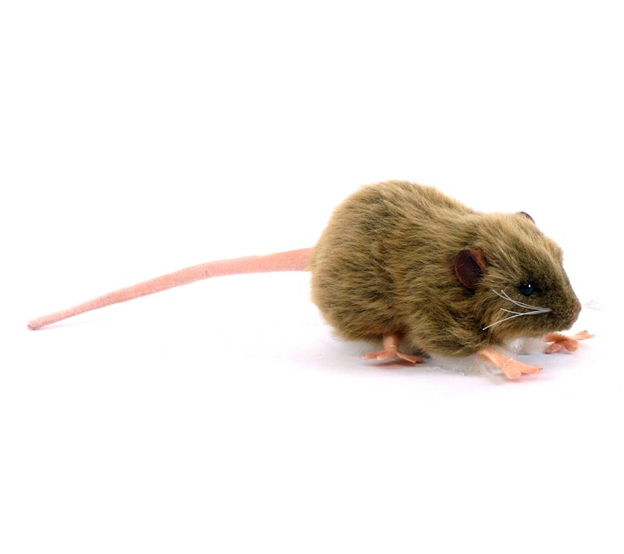 Мягкая игрушка - Крыса бурая, 12 см.Животные<br>Мягкая игрушка - Крыса бурая, 12 см.<br>
