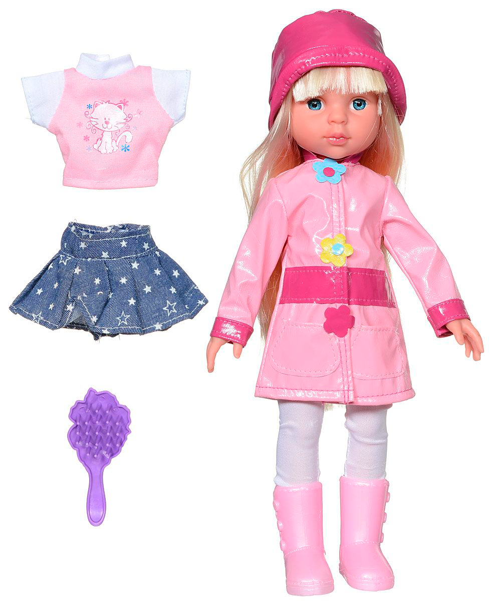Озвученная кукла Карапуз в осенней одежде, 33 смКуклы Карапуз<br>Озвученная кукла Карапуз в осенней одежде, 33 см<br>