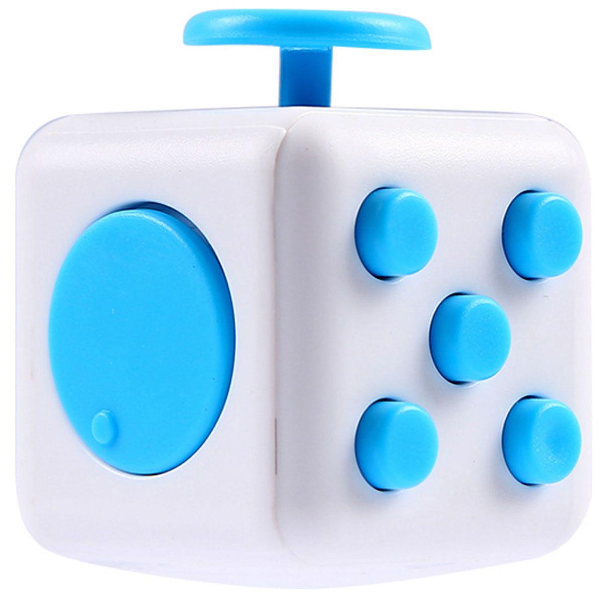 Игрушка антистресс Fidget Cube, акваАнтистресс кубики Fidget Cube<br>Игрушка антистресс Fidget Cube, аква<br>