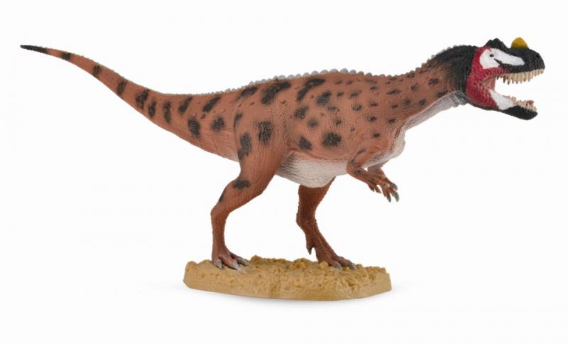 Купить Цератозавр с подвижной челюстью. 1:40, Collecta Gulliver