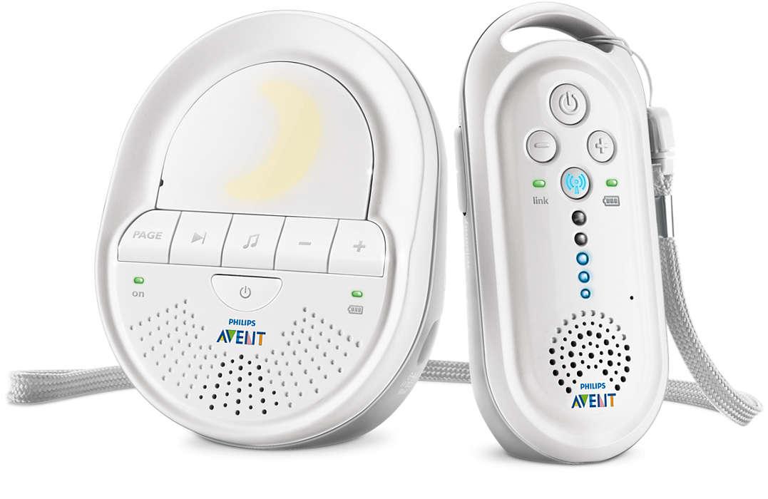 Радионяня для присмотра за детьми до 3-х лет Philips Avent SCD-506 - Электронные приборы, артикул: 168922