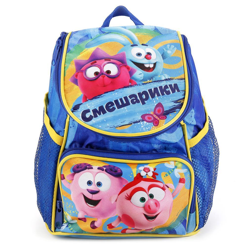 Купить Рюкзак дошкольный из серии Смешарики, средний, размер 27 х 21 х 15 см., Играем вместе