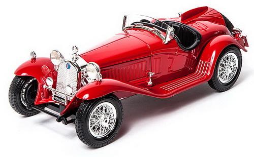 Bburago Alfa Romeo 8C 2300 Spider Touring, 1932 года выпуска, масштаб 1:18Alfa Romeo<br>Bburago Alfa Romeo 8C 2300 Spider Touring, 1932 года выпуска, масштаб 1:18<br>