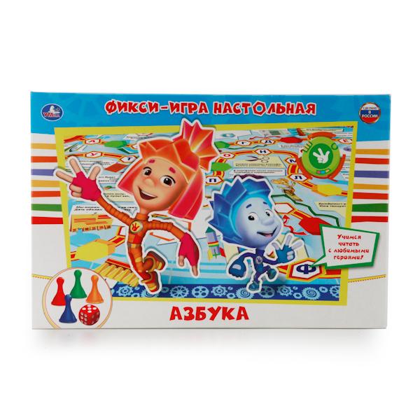 Настольная игра-ходилка - ФиксиАзбука от Toyway