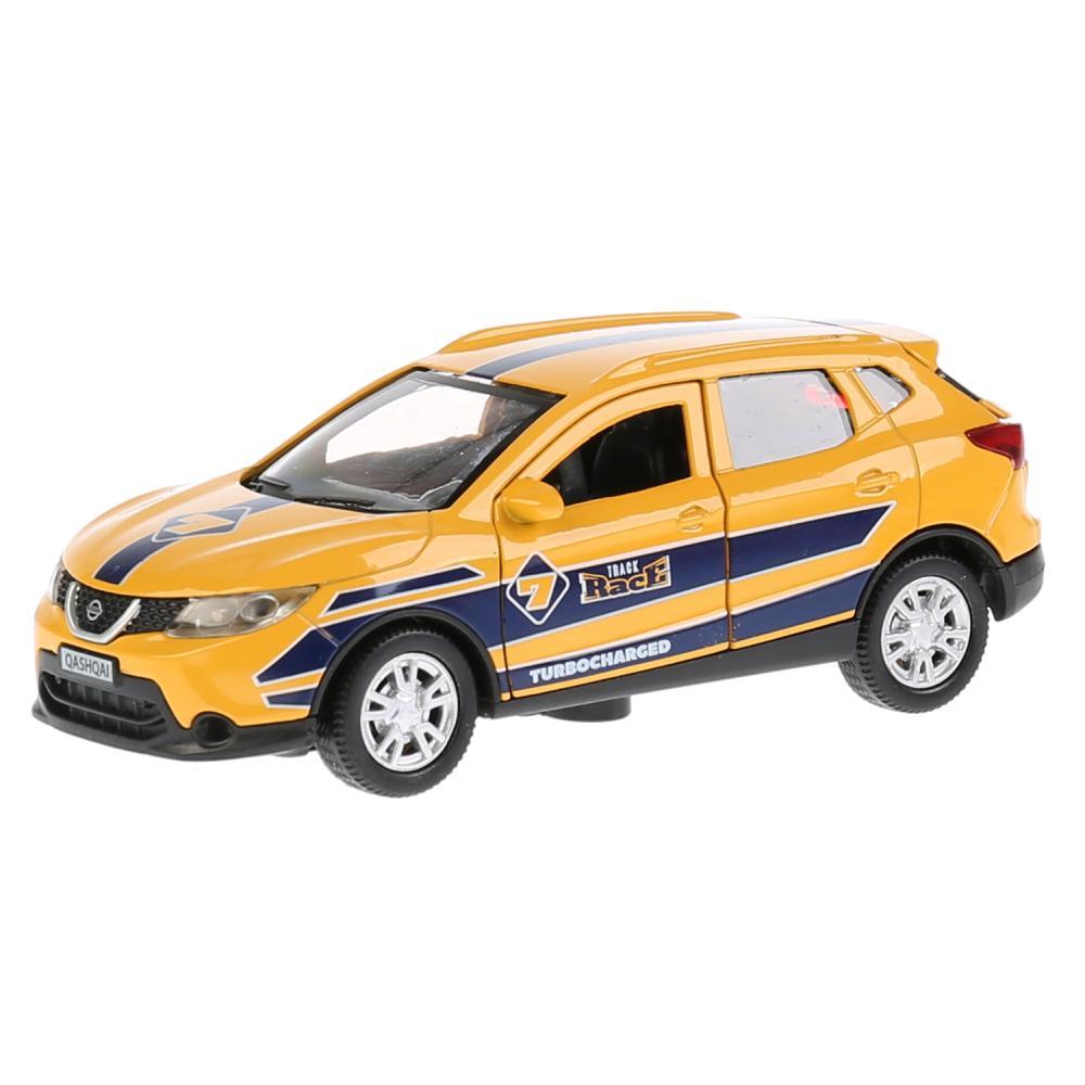 Купить Машина металлическая Nissan Qashqai Спорт, 12 см, открываются двери, инерционная, Технопарк