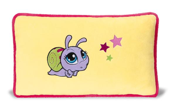 Подушка Улитка фиолетовая