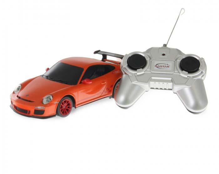 Купить Машина на р/у - Porsche GT3 RS, оранжевый, 1:24, 18 см, Rastar
