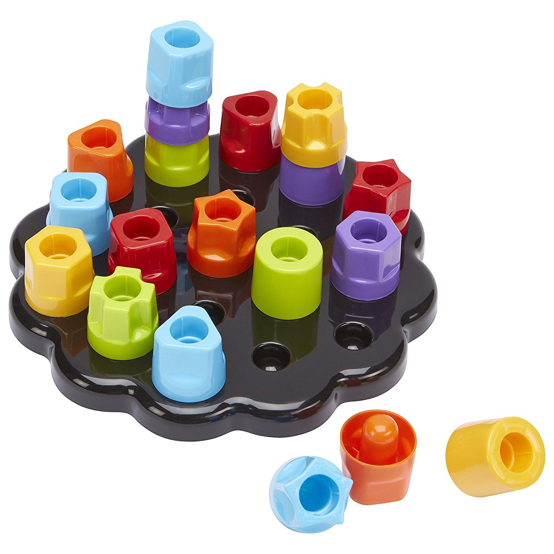 Развивающая игрушка Цветные гаечкиСортеры, пирамидки<br>Развивающая игрушка Цветные гаечки<br>
