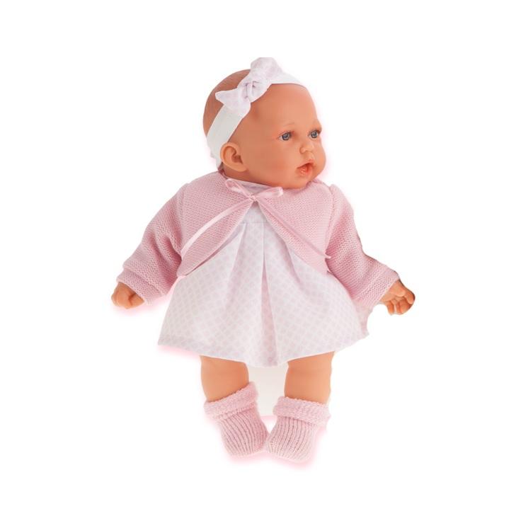 Купить Интерактивная кукла Петти в розовом, 27 см, Antonio Juans Munecas