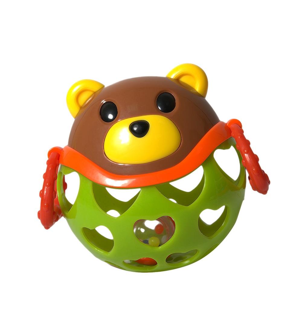 Игрушка-неразбивайка МедведьДетские погремушки и подвесные игрушки на кроватку<br>Игрушка-неразбивайка Медведь<br>
