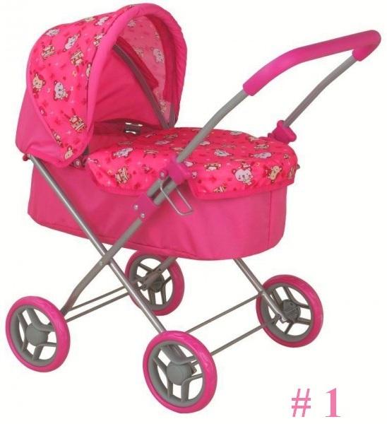 Классическая коляска для кукол, с капюшоном - Коляски для кукол, артикул: 155196