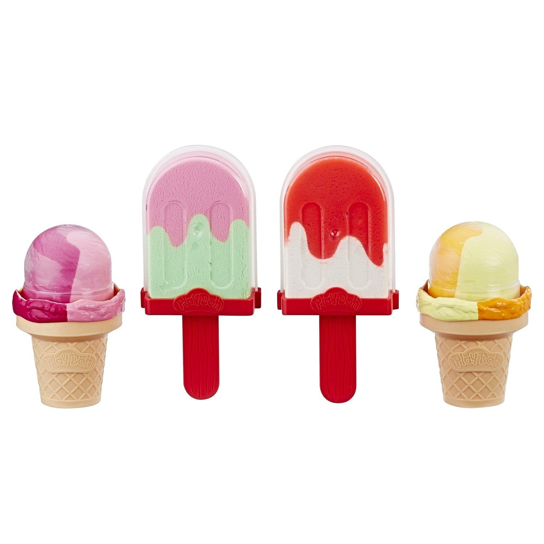 Игровой набор Play-Doh холодильник к с мороженым фото