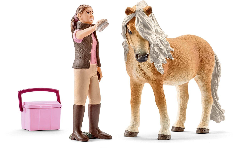 Набор фигурок - Конюх и Исландский пониЛошади (Horse)<br>Набор фигурок - Конюх и Исландский пони<br>