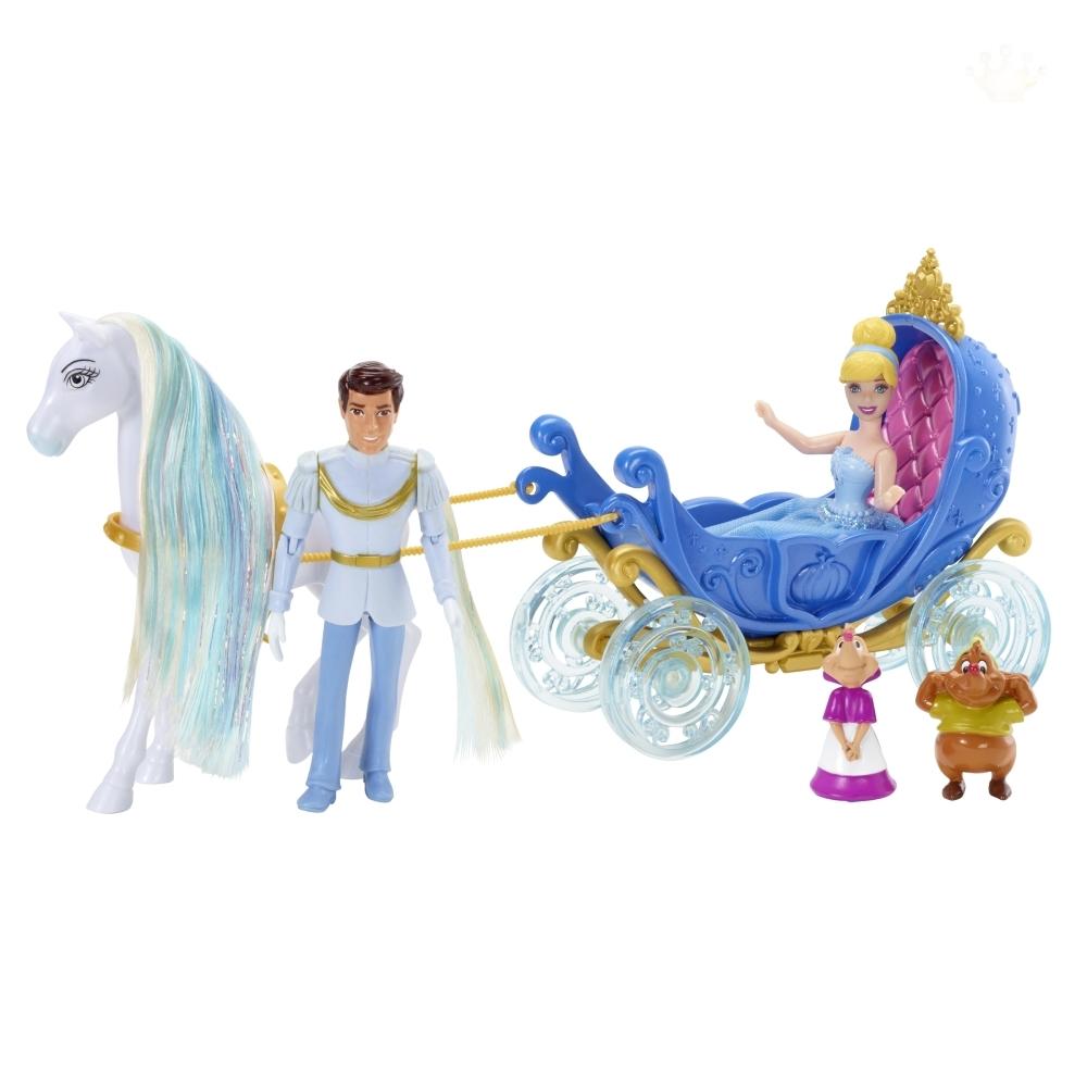 Подарочный набор «Маленькое королевство» с мини-куклой ЗолушкаЗолушка<br>Подарочный набор «Маленькое королевство» с мини-куклой Золушка<br>