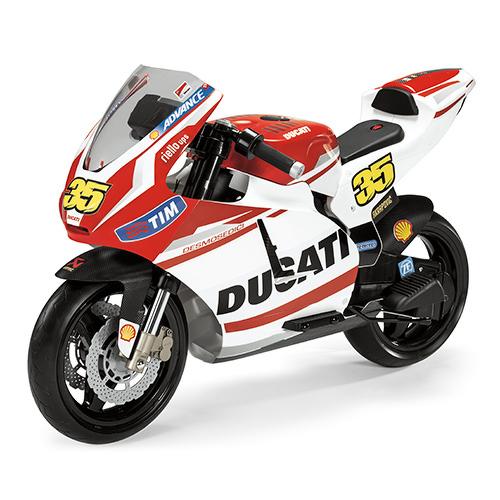 Детский электромотоцикл Peg-Perego DUCATI GP Rossi MC0020  - купить со скидкой