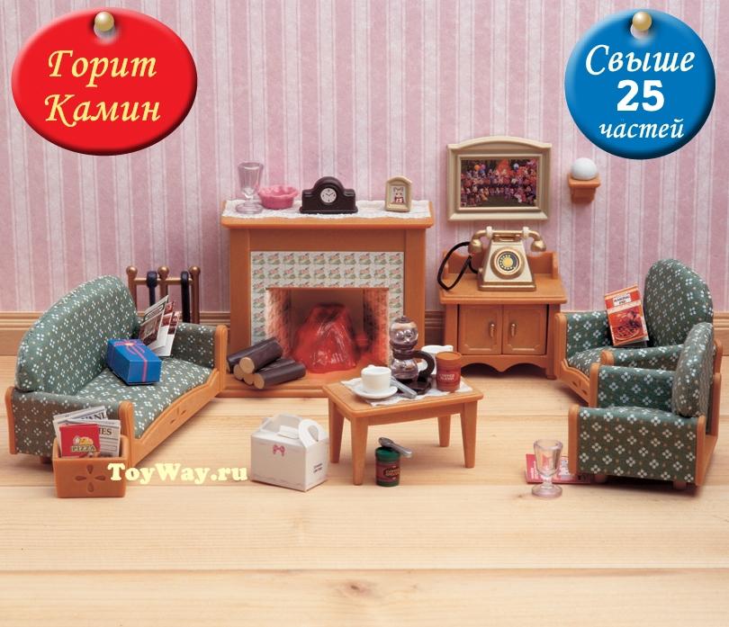 Sylvanian Families - Гостиная DeluxeМебель<br>Sylvanian Families - Гостиная Deluxe<br>