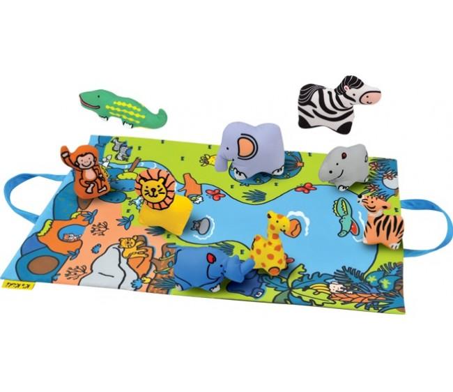 Развивающий набор - Джунгли зовутРазвивающие игрушки K-Magic от KS Kids<br>Развивающий набор - Джунгли зовут<br>