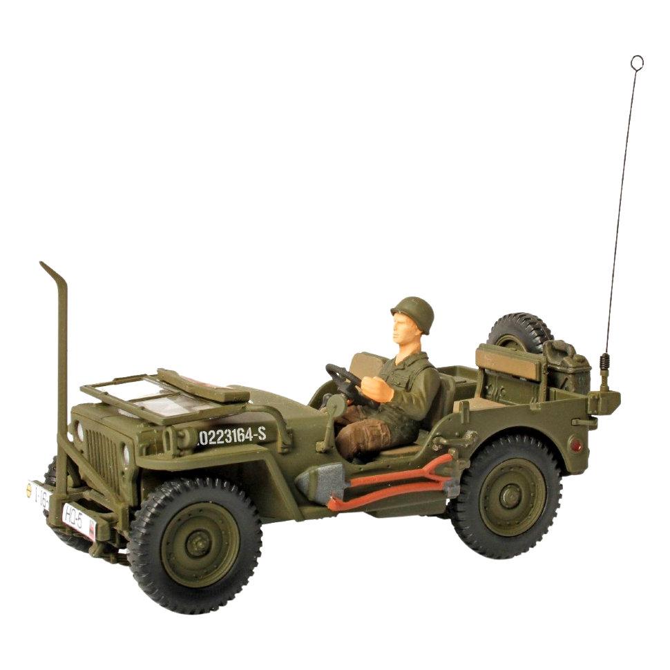 Коллекционная модель - США, военный автомобиль , Нормандия, 1944, 1:72Военная техника<br>Коллекционная модель - США, военный автомобиль , Нормандия, 1944, 1:72<br>