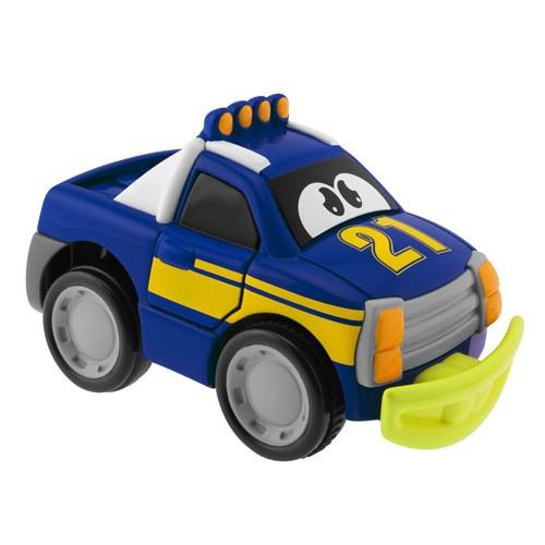 Машинка Turbo Touch Crash, голубаяМашинки для малышей<br>Машинка Turbo Touch Crash, голубая<br>
