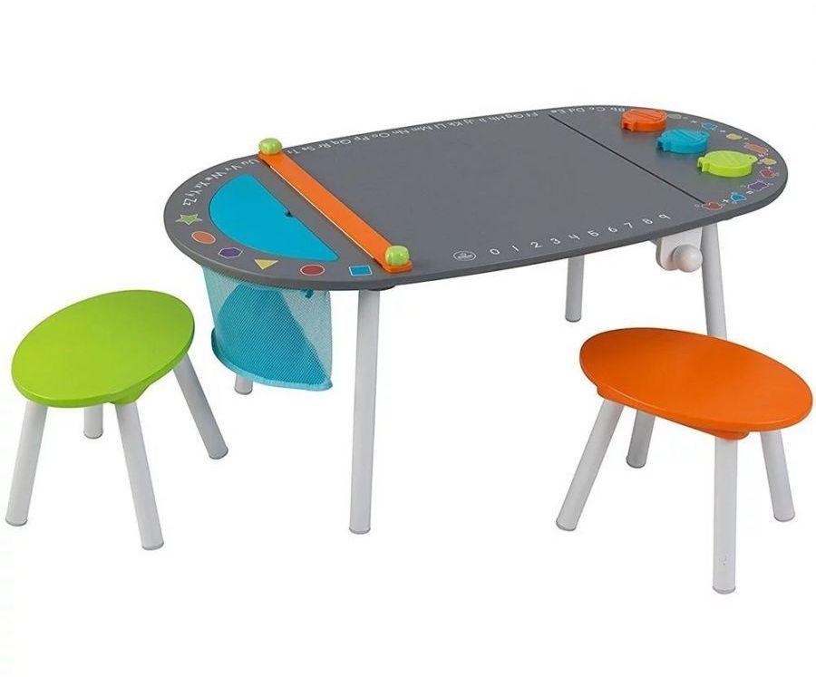 Купить Детский стол для рисования и 2 стула, KidKraft