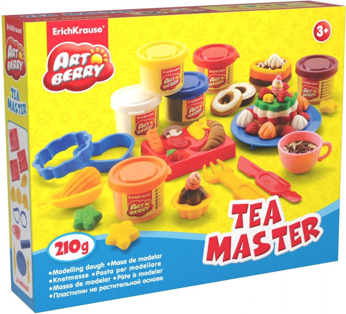 Средний набор для лепки Artberry - Чаепитие /Tea Master с пластилином на растительной основе