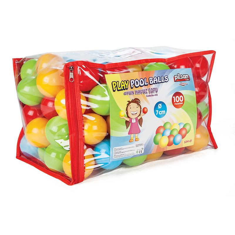 Шарики для сухого бассейна - 100 штук 7 см в пакете-сумкеСухой бассейн<br>Шарики для сухого бассейна - 100 штук 7 см в пакете-сумке<br>