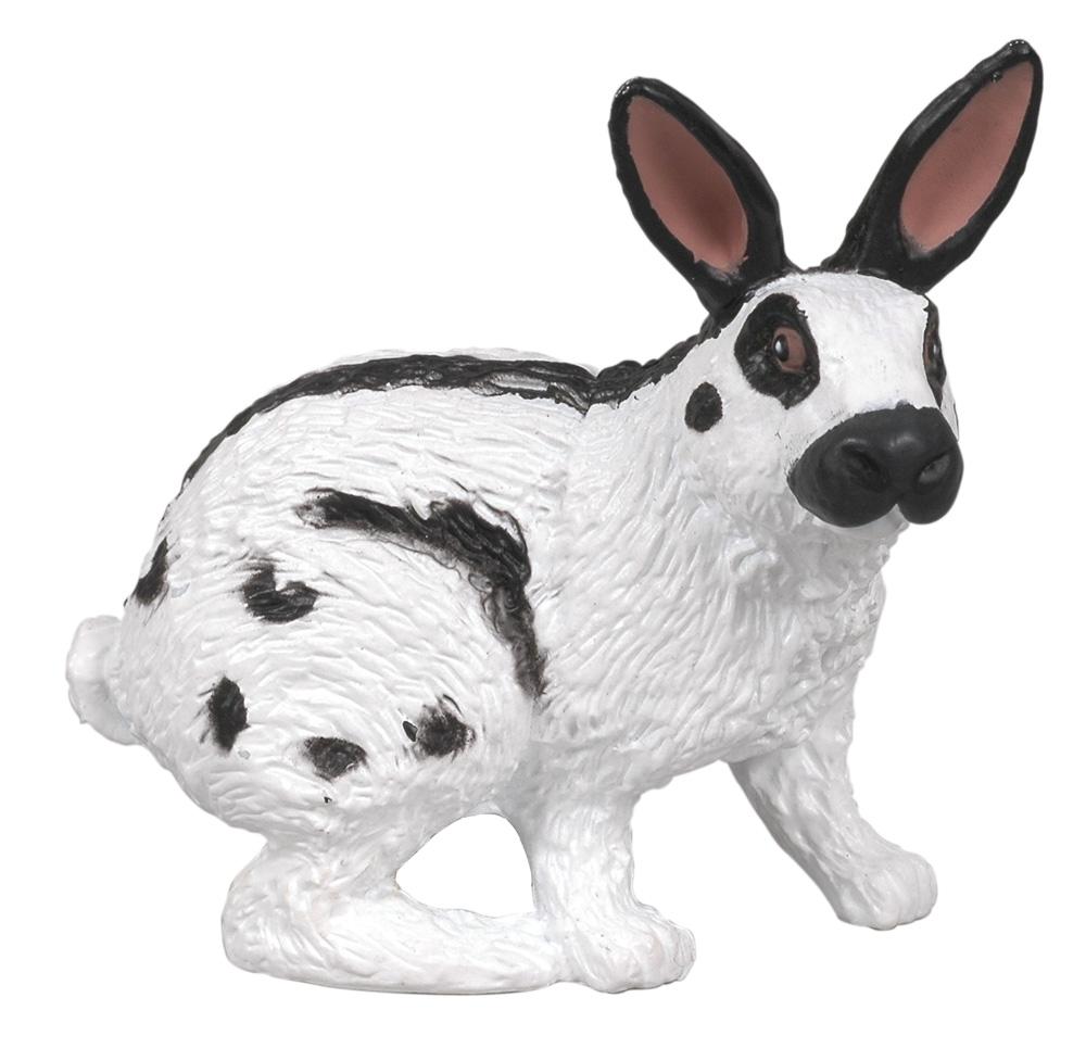 Игровая фигурка – Пегий кроликНа ферме (Farm life)<br>Игровая фигурка – Пегий кролик<br>