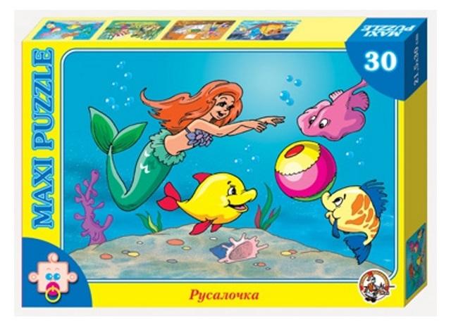 картинка Пазл макси «Русалочка», 30 элементов от магазина Bebikam.ru