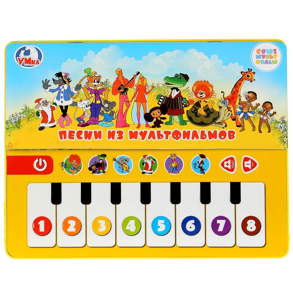 Развивающее пианино – Играем по нотам, на батарейках, с 12 любимыми песенками фото